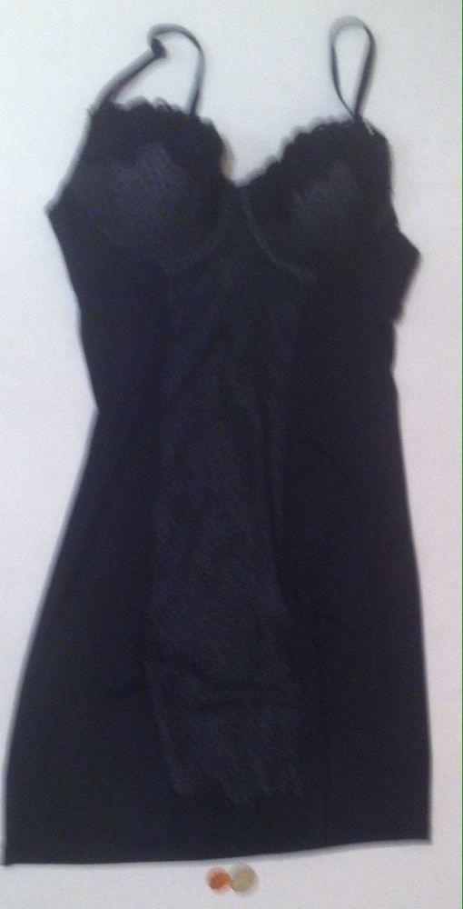 1295f3713adc Nice Sexy Used Marilyn Monroe Intimates Black Lace Babydoll Chemise ...
