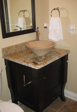 1000 images about powder room on pinterest marble top vessel sink vanity and powder room design - Bathroom vanity small space plan ...