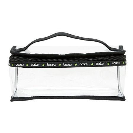 Train Case Basics $8 This handy Toiletry Bag measures 23cm x 11cm x 9cm