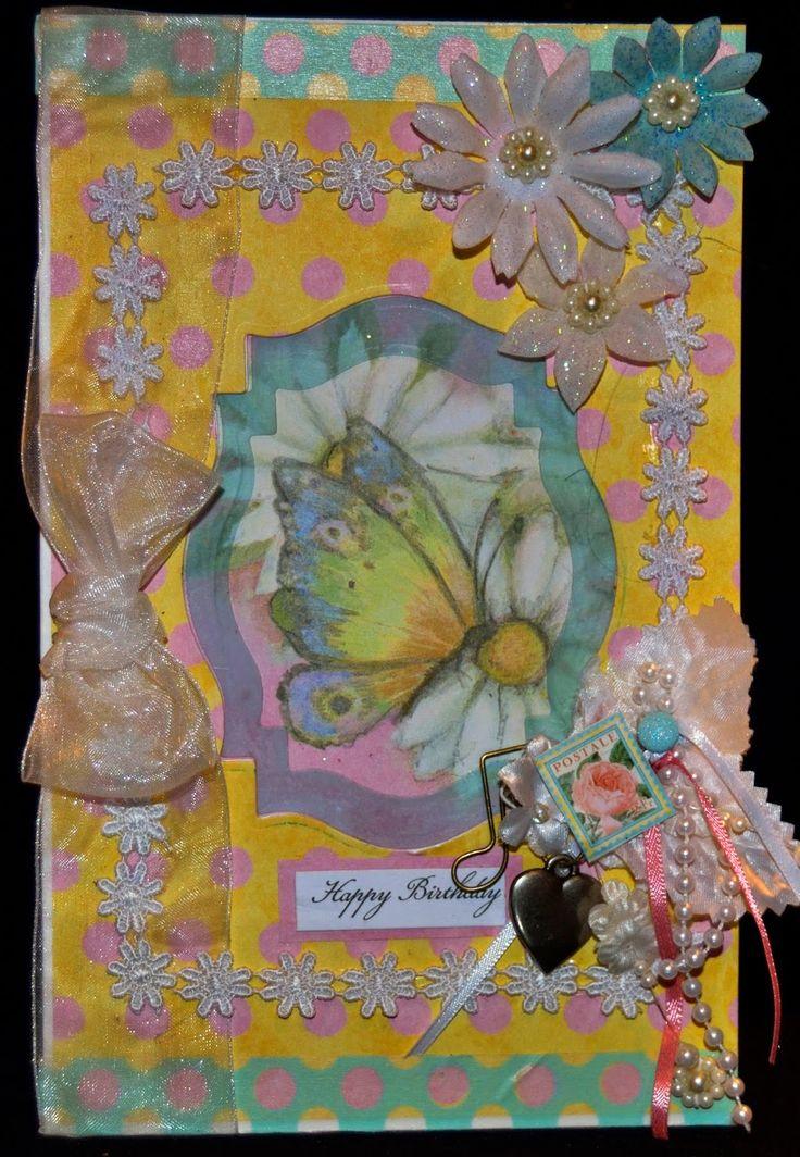 My Crafts-: Aunt's Birthday