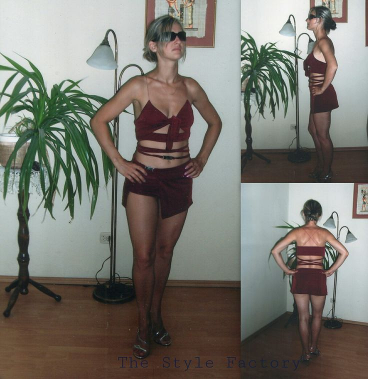 Three-piece set - top, skirt and shorts // thestylefactory.pl //