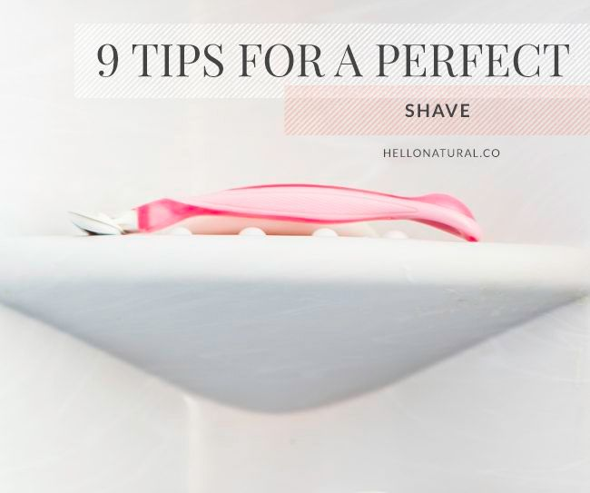 DIY: Coconut Oil Shaving Cream + 9 Tips for the Perfect Shave | HelloNatural.co