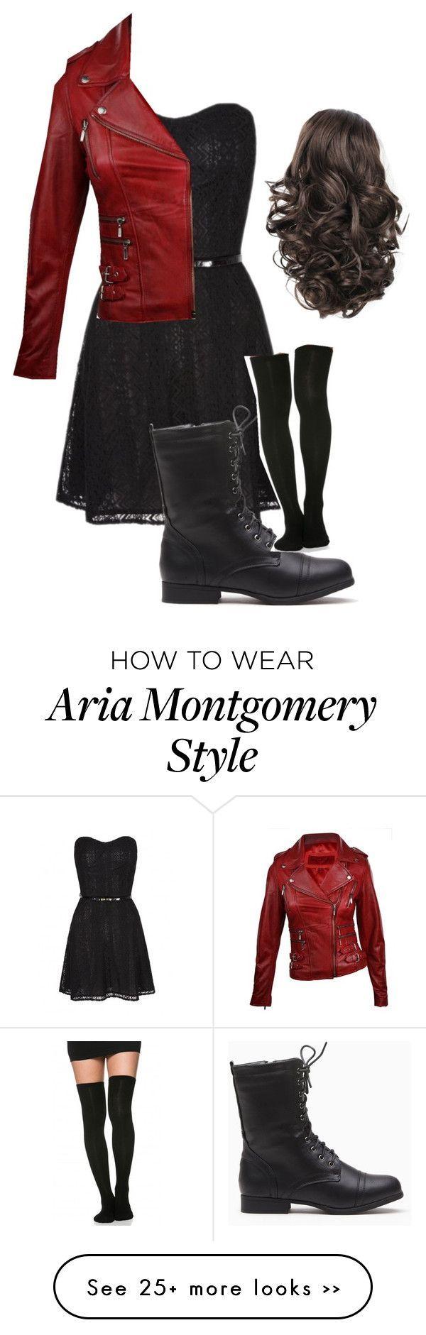 """Aria Montgomery (PLL)"" by mariepolyvore04 on Polyvore #flatlay #flatlays #flatlayapp www.theflatlay.com"
