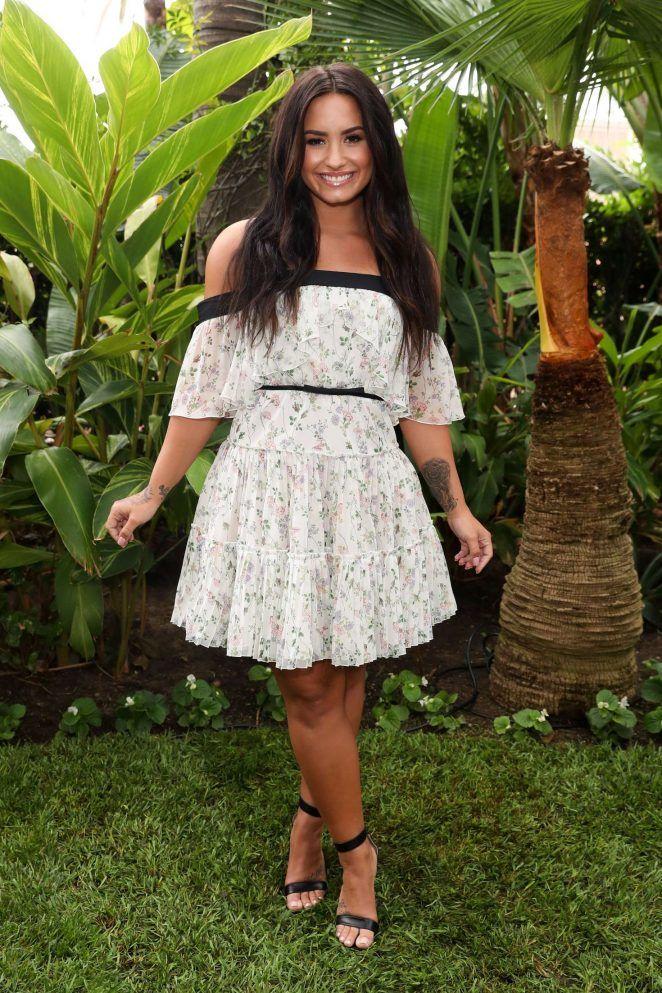 Demi Lovato at Fabletics' Launch Party in LA