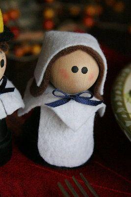 Pilgrim Girl: Thanksgiving Crafts, Girls, Clay Pots Terracotta Flower, Family Crafts, Clay Pot Pilgrims, Pot Crafts, Crafts Pots, Clay Crafts