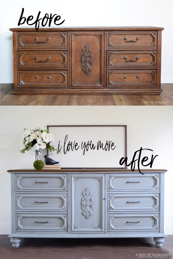 Bedroom Furniture Makeover, How To Add Furniture Legs