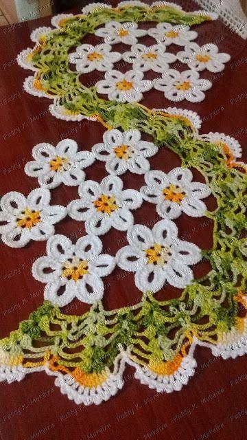 Imagen relacionada crochet centros de mesa pinterest - Centros de mesa de ganchillo ...