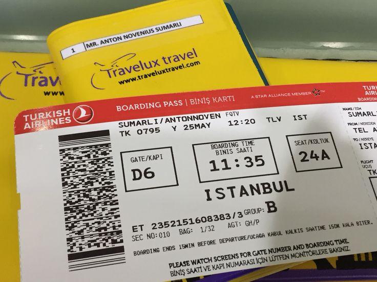 25 May 2015 TK 795 Tel Aviv Istanbul