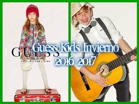 Fashiontv: Guess Kids Otoño Invierno 2016 2017