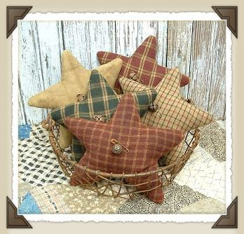 Primitive Stars - Christmas dec that can stay out longer....