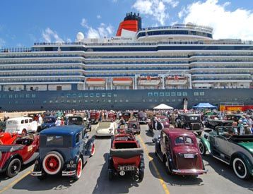 Perfect destination for a Vintage weekend in Napier #cruiseship #artdeco