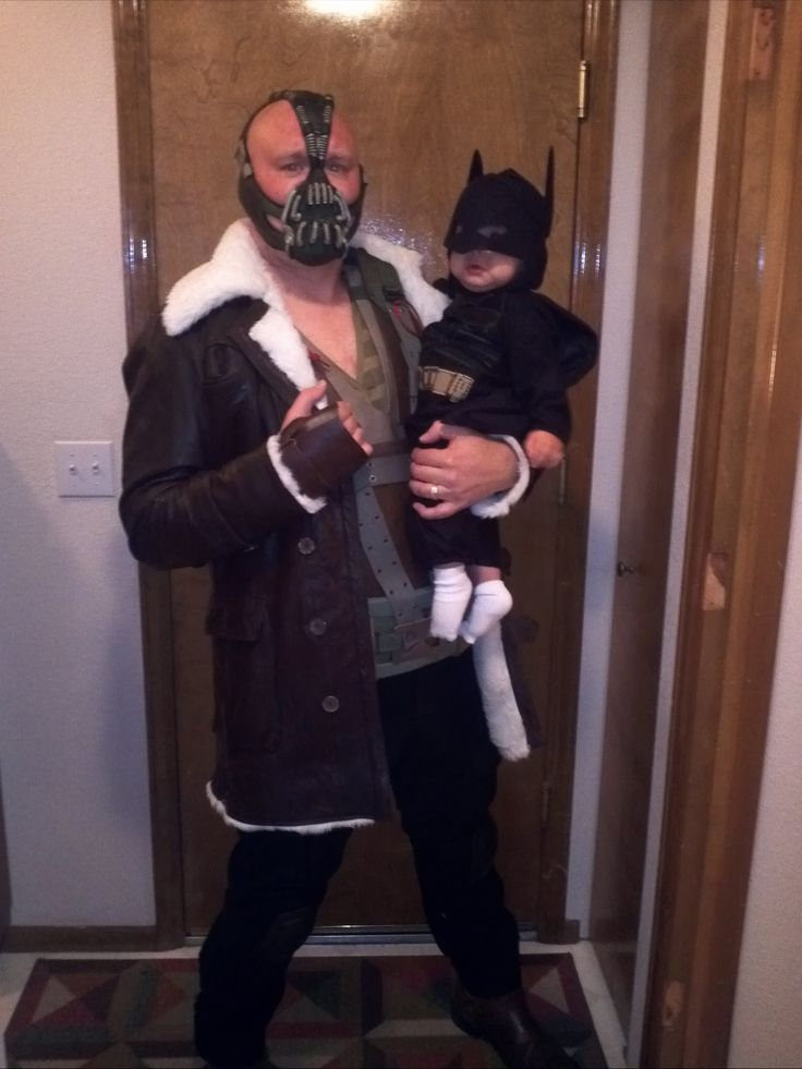 my son and I celebrate his first Halloween...and when it's over, he has my permission to cry. - Imgur