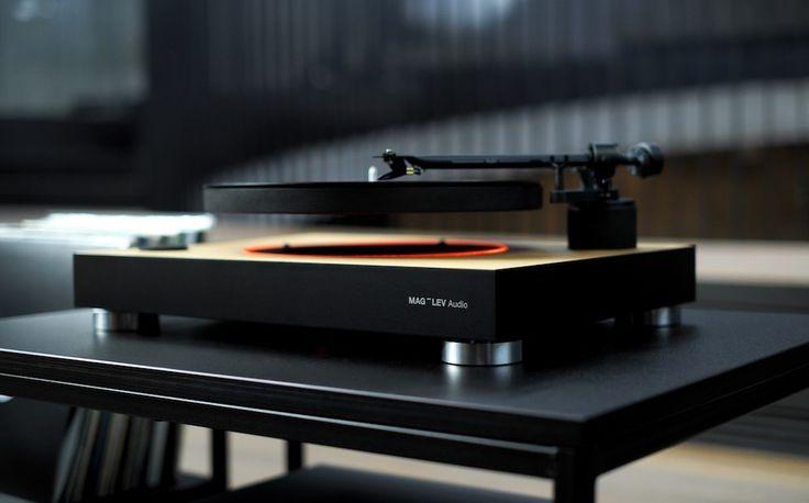 MAG-LEV Audio, la platine qui fait léviter vos vinyles - http://www.leshommesmodernes.com/mag-lev-audio-platine-vinyles/