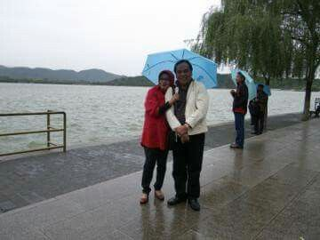 Beijing, two years ago to day....