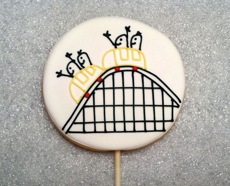 roller coaster cookies, images - Google Search