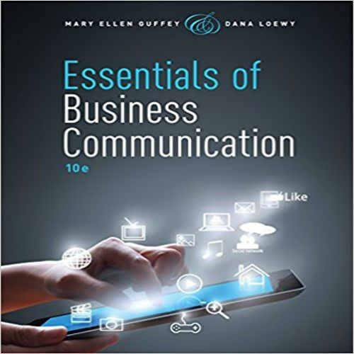 79 best soluution manual images on pinterest banks book shelves solution manual for essentials of business communication 10th edition by guffey loewy fandeluxe Gallery
