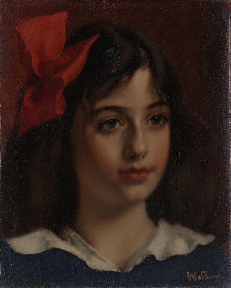 Portret van een meisje   Willem Witsen   1885 - 1922   Rijksmuseum   Public Domain Marked