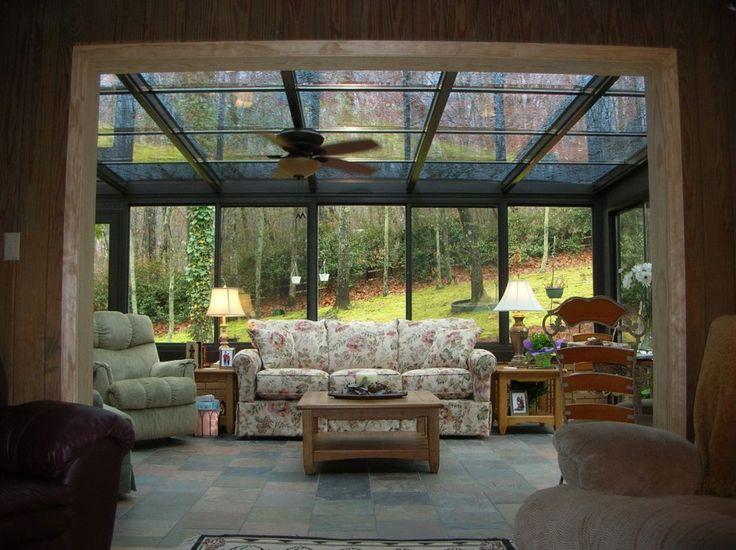 32 best sun rooms images on pinterest sun room for Sun porch ideas
