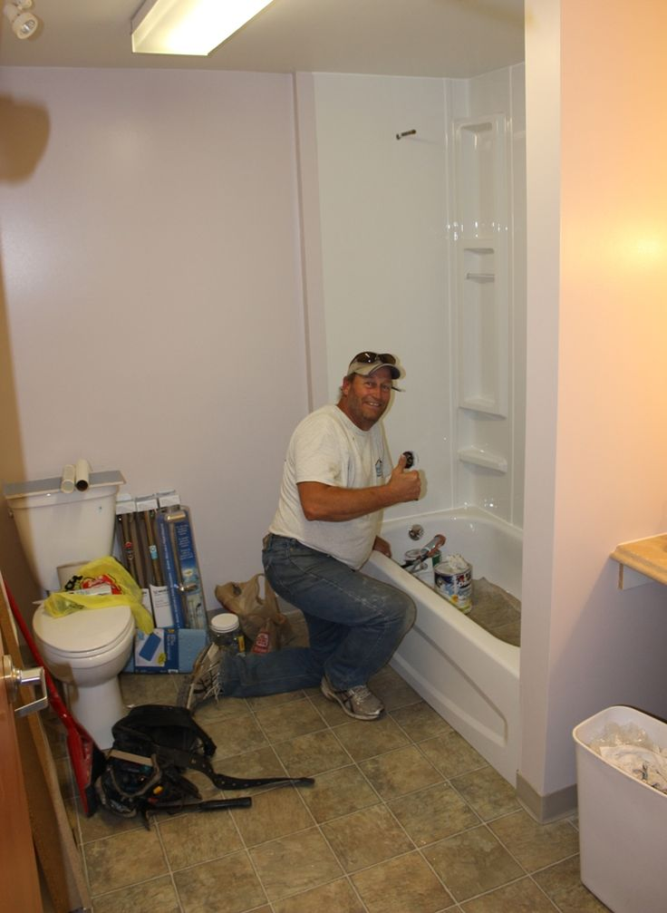 "2014 - Shelter Bathroom ""Work in Progress"""