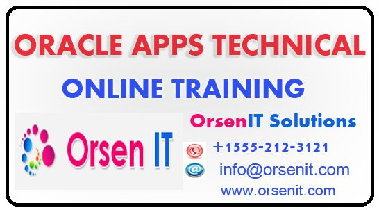 oracle apps technical online training,oracle apps technical training in usa