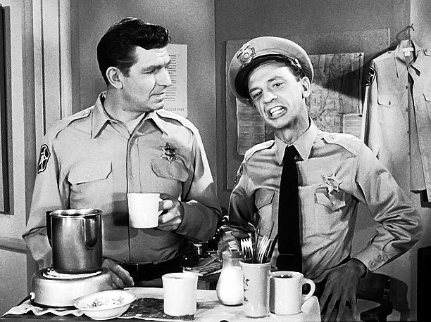 Don Knotts, Andy Griffith, ... | Perhaps TV's first bromance, the Mayberry sheriff and his deputy weren't always an ace crime-fighting team, but Andy's good sense balanced, Barney's dopey goodness, and