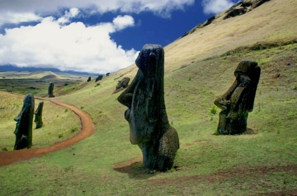 Easter Island, about five-and-a-half hours by plane from Santiago, Chile, is among the most remote inhabited islands in the world.