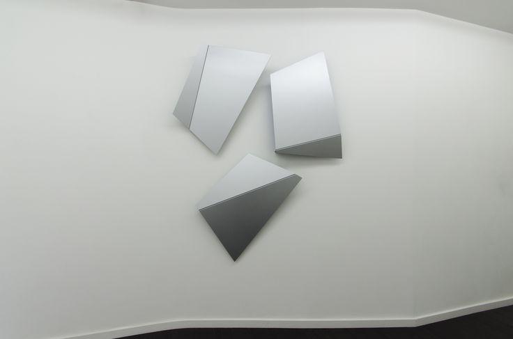 Henrik Eiben - LAMAR - 2015 - Aluminium; 200 x 160 x 14 cm
