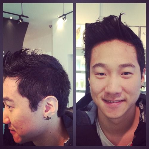 Sara Hairstyling — Jaques stopped by for his first haircut in a long...