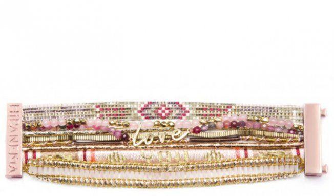 Bracelet Hipanema pour Octobre Rose