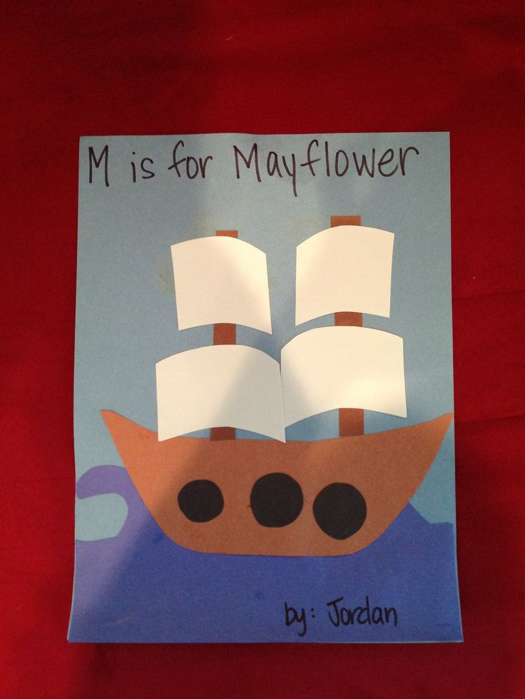 M is for Mayflower Craft