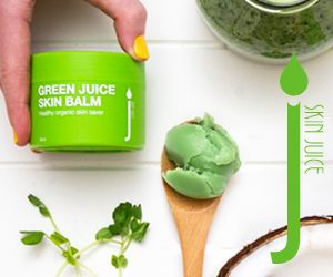 Green Juice Skin saver balm, organic goodness.