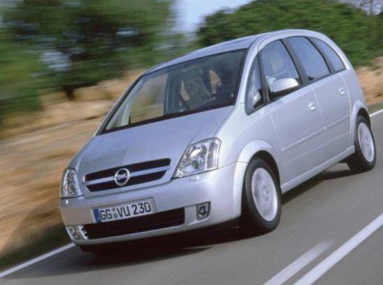 Opel Meriva A Specifications - http://autotras.com