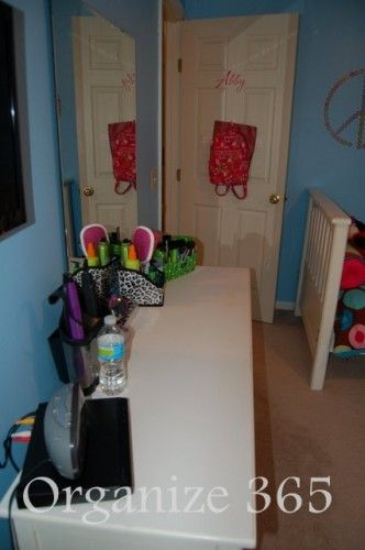 Do you have more than one child? I decided to move all my daughter's grooming into her bedroom and create a girls bedroom vanity. | Organize...