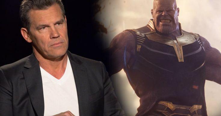 Josh Brolin Talks Thanos Infinity War Video Infinity War Josh Brolin Comic Books