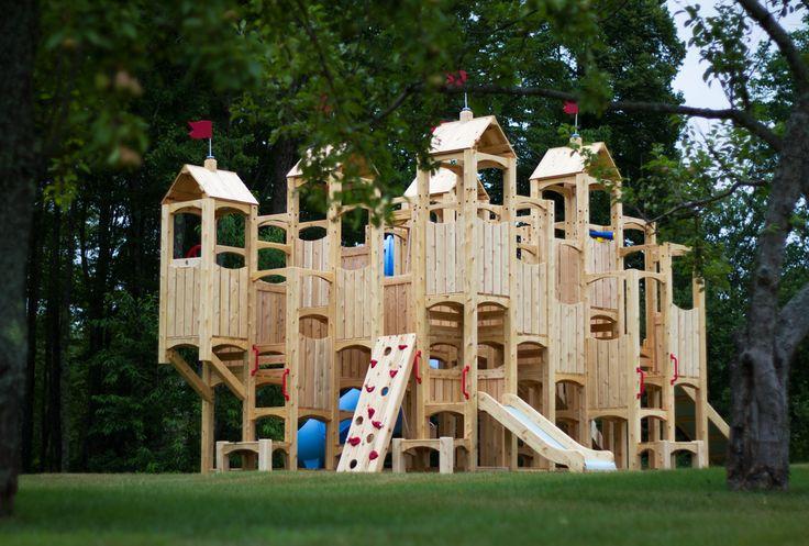Kids Swingset Ideas Backyard Playground