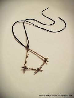 DIY Gift Idea! tutorial: http://trashionbysookie.blogspot.com/