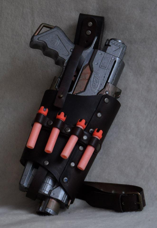 Steampunk nerf holster