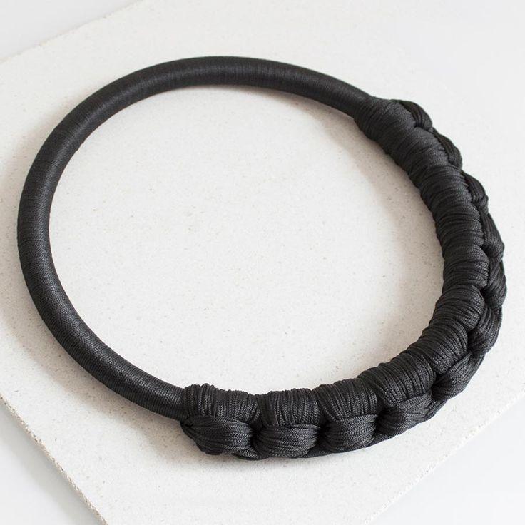 D E M I. K N O T. N E C K L A C E #eleanoramorosojewellery.  Combine with kumihimo.