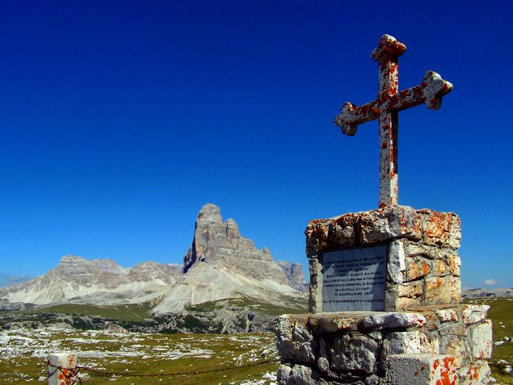 Traces of the Past ... the Great War -  Mt. Piana (Monte Piana - Auronzo di Cadore - Italy) is a mountain rich with history. Trenches, walkways and lines marked by barbed wire help recreate the events of the past. #history #auronzomisurina #greatwar