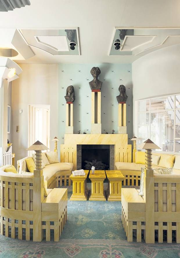 Great Status Symbols Charles Jencks Townhouse Embraces Kitsch And Theory Of  Cosmic With Postmodern Design