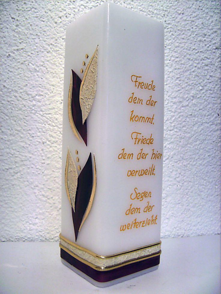 Kerzen-Design Bärbl: Sonderanfertigungen