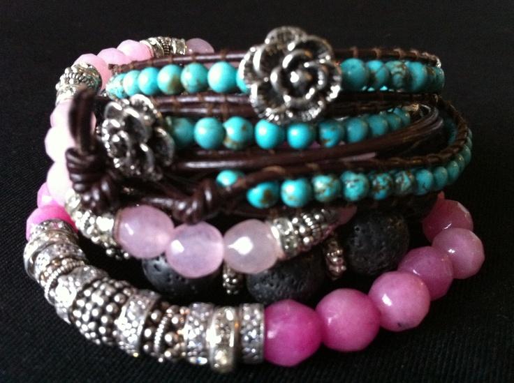 Bead pattern bracelet