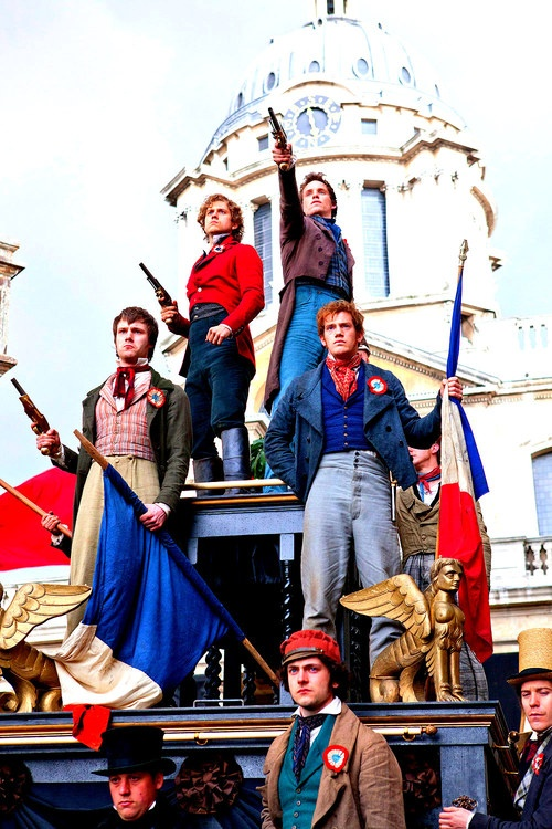Les Mis <3  Oh my gosh these boys I loved them!  I was ready to join in their crusade!