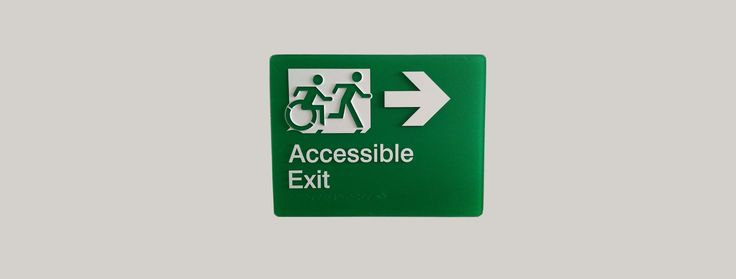 Support Egress Group creating The Accessible Exit Sign Project