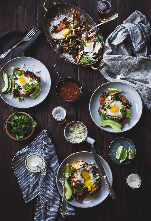 Baked Chilaquiles with Black Beans + Kale | The Bojon Gourmet