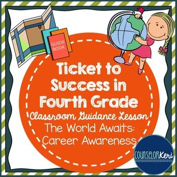 """This classroom guidance lesson introduces students to the concept of """"applying"""" to jobs or college. Students reflect on personal strengths, accomplishments, and interests and create a """"future application."""" Includes lesson plan (objectives, outline, materials list, ASCA standards alignment), example application, handout, objectives assessment checklist."""