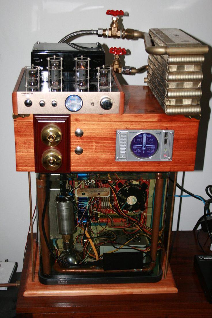 Steampunk Computer Case
