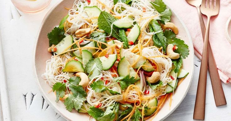 This fresh, flavoursome noodle salad is the perfect accompaniment for a summer barbecue.