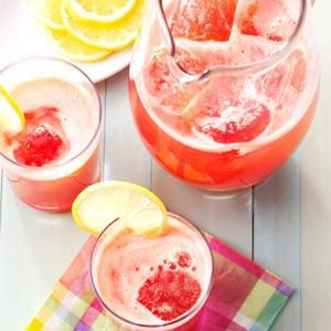 18 Best Summertime Lemonade Recipes                     -                                                   Have the best lemonade stand on the block with refreshing recipes for this summer classic, including pink lemonade, fruit-flavored lemonades and lemonade recipes with real lemons.
