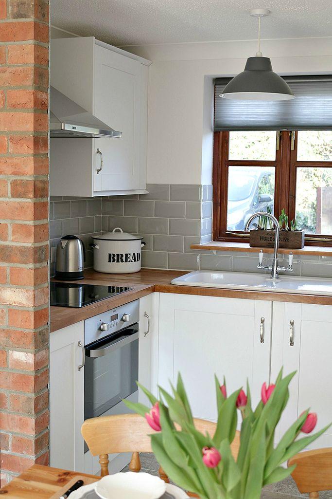 Grey Kitchen Wall Tiles